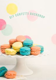 DIY Confetti Backdro