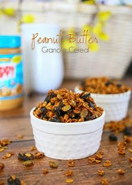 Peanut Butter Granol