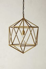 Golden Pendant #anth