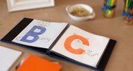 DIY alphabet book –