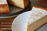 rum pumpkin cheeseca