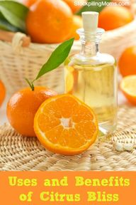 How citrus bliss oil