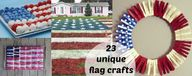 23 unique flag craft