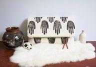 Handprint Canvas Clu
