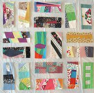 crazy quilt rectangl