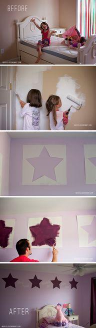 DIY Star Stencil - B