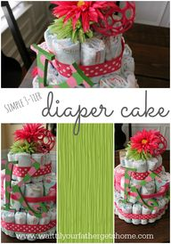 Simple 3-Tier Diaper