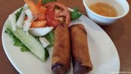 Vietnamese egg roll...
