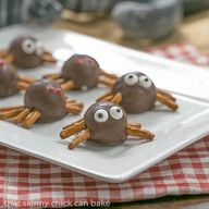Potato Candy Spiders