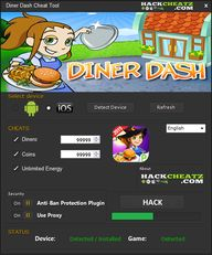 Diner Dash hack chea...