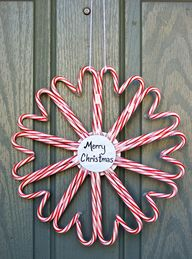 Candy Cane Wreath DI