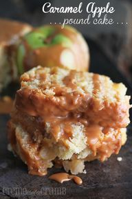 Caramel Apple Pound