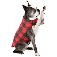 Reversible Plaid Dog