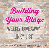 Weekly Blog Giveaway