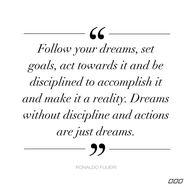 Have a goal, write i