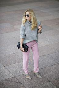 pink pants.