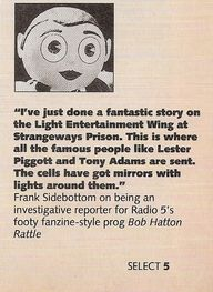 Frank Sidebottom cha