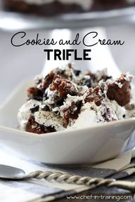 Cookies and Cream Tr
