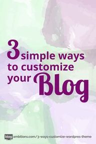 3 Simple Ways to Cus