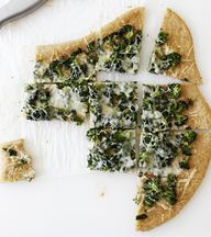 broccoli garlic pizz