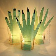 Creepy Hand Luminari
