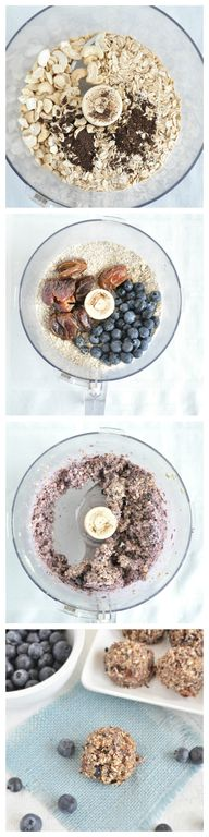 No Bake Blueberry Mu...