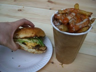 Bleecker St burger &