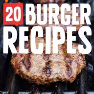 20 Burger Recipes- t