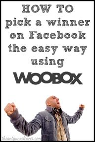 How to use Woobox to