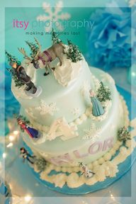 Frozen party theme -