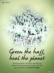 Green the hajj, heal