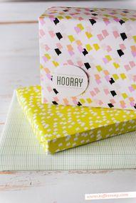printable gift wrap,