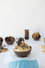 Chocolate Bowls with