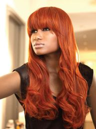 bold hair color for