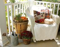 Fall Front Porch Ide