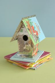 Birdhouse made from