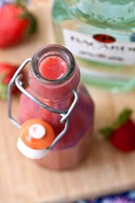 DIY Strawberry Daiqu