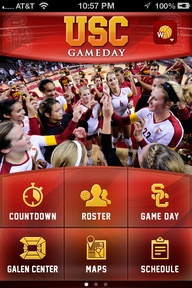 The Gameday App uses