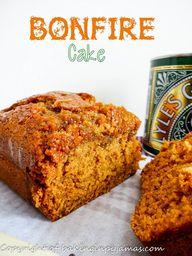 Bonfire Cake #apeeki
