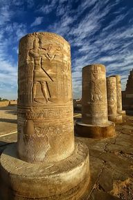 Pillars of Kom Ombo