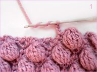 Bobble stitch tutori
