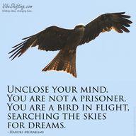 Unclose your mind. Y