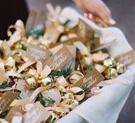 #gold wedding bells
