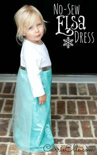 This no-sew Elsa cos
