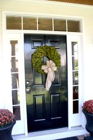 front entry Fall dec