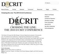 D-Crit (SVA MFA in D