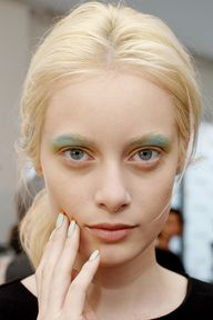 The colored brow at
