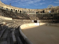 The Roman arena in N