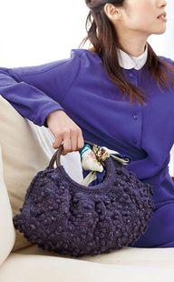 Crochet handbag - fr