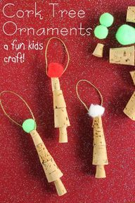 Kids Craft:  Cork Tr